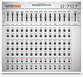 Click to display SuperWave D-707 screenshot